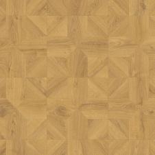 Ламинат влагостойкий Quick-Step IPA4143 IMPRESSIVE PATTERNS Дуб природный бежевый брашированный, плитка