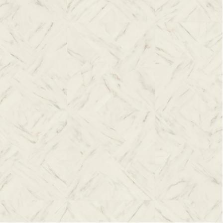 Ламинат влагостойкий Quick-Step IPE4506 IMPRESSIVE PATTERNS Мрамор бежевый, плитка