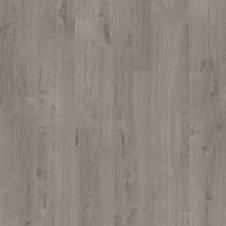 Виниловая плитка Quick-Step PULSE RIGID CLICK Дуб хлопковый темно-серый RPUCL40202, 1-о полосный