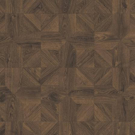 Ламинат влагостойкий Quick-Step IPA4145 IMPRESSIVE PATTERNS Дуб кофейный брашированный, плитка