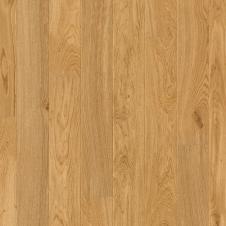 Паркетная доска Quick-Step CASTELLO ДУБ ТРАДИЦИОННЫЙ НАТУРАЛЬНЫЙ МАТОВЫЙ CAS1338S, однополосная