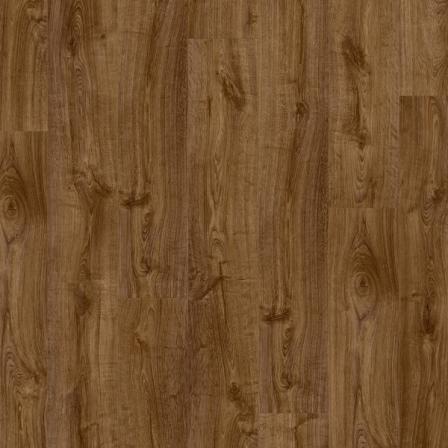 Виниловая плитка Quick-Step PULSE CLICK ДУБ ОСЕННИЙ КОРИЧНЕВЫЙ PUCL40090, кварцвиниловая плитка