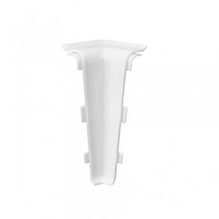 Угол для плинтуса внутренний Arbiton INDO 40 белый мат